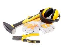 Working tools set. Stock Image
