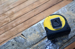 Working Tools - Tape measure Royalty Free Stock Image