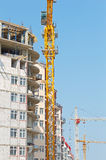Working tower crane Royalty Free Stock Image