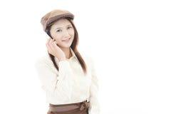 Working waitress Stock Photography