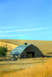 Working Weathered Barn Stock Photos