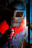Working welder Royalty Free Stock Photography