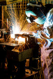 The working in Welding skill up Stock Photography