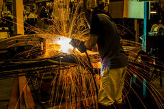 The working in Welding skill up Stock Photos