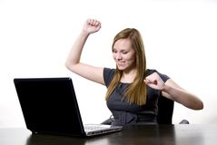 Working woman Stock Photo
