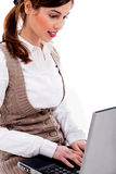 Working woman Stock Image