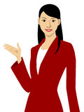 A working woman Stock Image