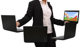 Working woman Royalty Free Stock Image