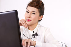 Working woman Royalty Free Stock Photography