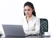 A working woman Stock Photos