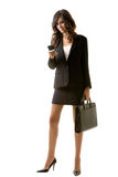 Working woman royalty free stock photos