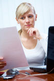 Working women in office Stock Images