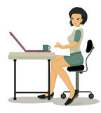 Working women. Stock Image