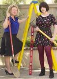 Working Women at Work Royalty Free Stock Photos
