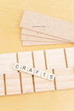 Working with Wood Crafts Stock Photography