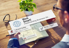 Working Work Smart Growth Development Passion Concept Stock Images
