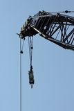 The Working World: Crane waiting. Stock Images
