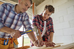 Working young man Royalty Free Stock Images