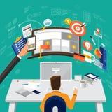 WorkingDesktop_19 Stock Photos