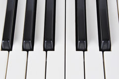 Workings keys of musical instrument Royalty Free Stock Images