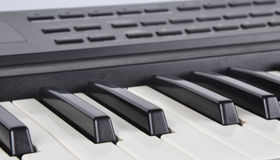 Workings keys of musical instrument Royalty Free Stock Photo