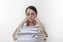 Workload Royalty Free Stock Image