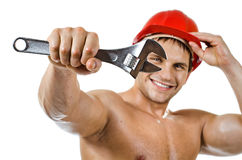 Workman Royalty Free Stock Image