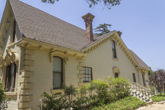 Workman House at the Homestead Museum Royalty Free Stock Photo