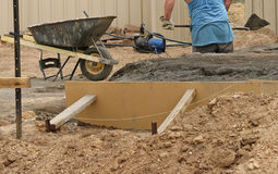 Free Workman Labouring At A Building Site Stock Photography - 87779192