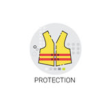 Workman Protection Clothes Building Construction Engineering Icon Royalty Free Stock Photography