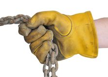 Workman's Gloves Stock Photography
