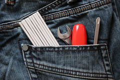 Workman tools Royalty Free Stock Photography