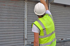 Workman working Royalty Free Stock Images