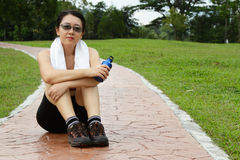 After a Workout Royalty Free Stock Photos