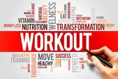 workout fotografia stock