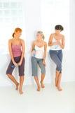 γυναίκες workout Στοκ φωτογραφία με δικαίωμα ελεύθερης χρήσης