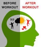 workout stock illustratie