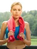 στήριξη workout Στοκ Εικόνες