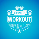 Workout background. Royalty Free Stock Photography