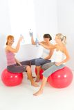 Workout break Royalty Free Stock Images
