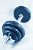 Workout equipment Stock Photo