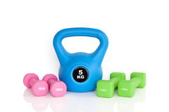 Workout equipment Royalty Free Stock Photo