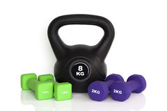 Workout equipment Royalty Free Stock Photography