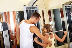 Workout on facilities Stock Photography
