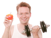 Workout food Stock Image