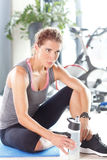 After workout Stock Photo