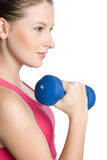 Workout Girl Royalty Free Stock Image