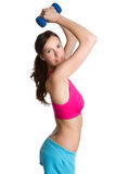 Workout Girl Royalty Free Stock Photography