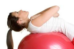 Workout Girl Stock Image