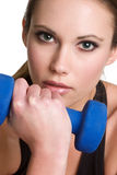 Workout Girl Stock Photo